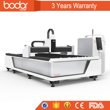 BODOR 3000W Portable Laser Cutting Machine For 25mm carbon steel, 16mm Stainless steel, 10mm Copper and Aluminum