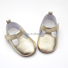 China new style girls shoes colorful flowers design baby mary jane princess shoes