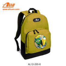 Low MOQ wholesale Brazil 2018world cup soccer backpack