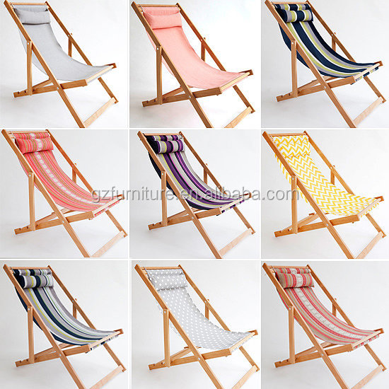 wholesale heat resistance camp chair , fold beach deck chair