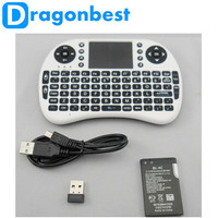 Wholesale i8 2.4g mini wireless keyboard with touchpad for m8s android tv box