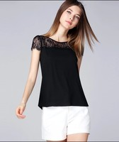 2015 New Models Chiffon Blouses Woman Shirt Wholesale Clothing