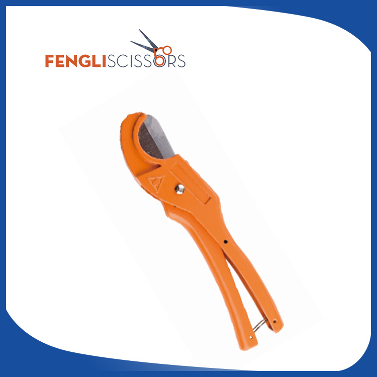 Portable new type exhaust pipe cutter especially for PEX and hose