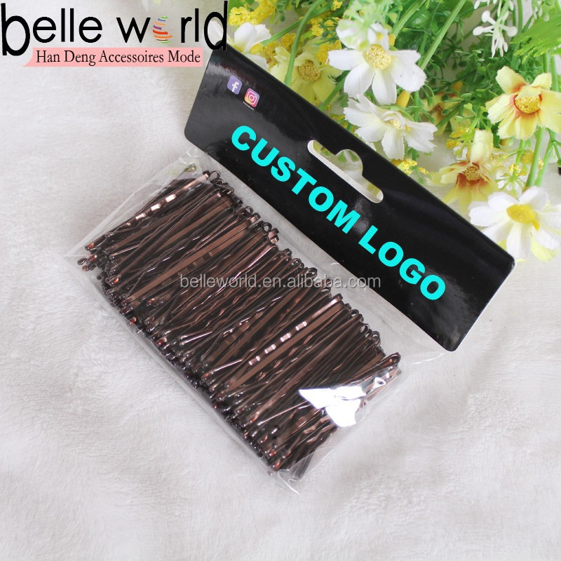 Wholesale Custom Different Size Colors Metal Hair Pins for Girls