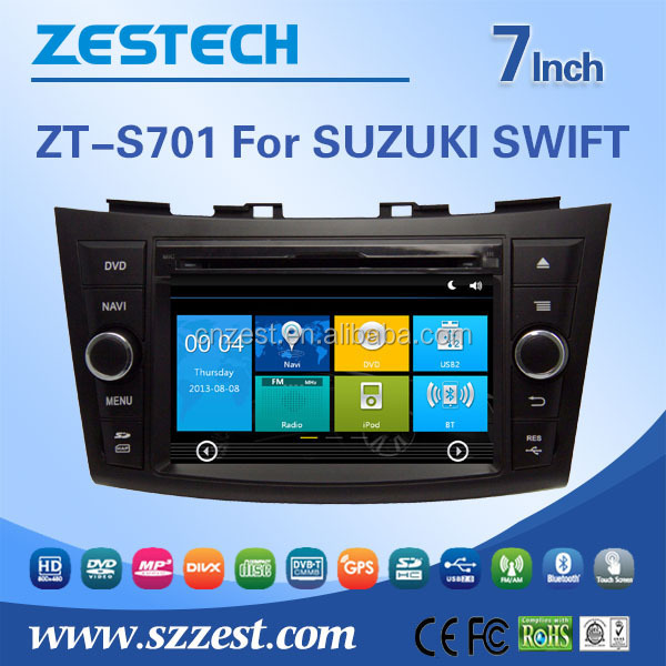 double din car radio dvd player for SUZUKI SWIFT 2 din car radios with navigation with bluetooth car gps navigation system