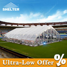 Giant field tent for sport game