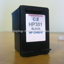 Compatible ink cartridge used for hp 301/refillable cartridges