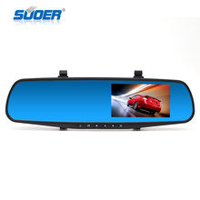 "Factory Price Car Dash Cam, 4.3"" LCD FHD 1080p Dual Lens Car Camera Front and Rear DVR Video Recorder"