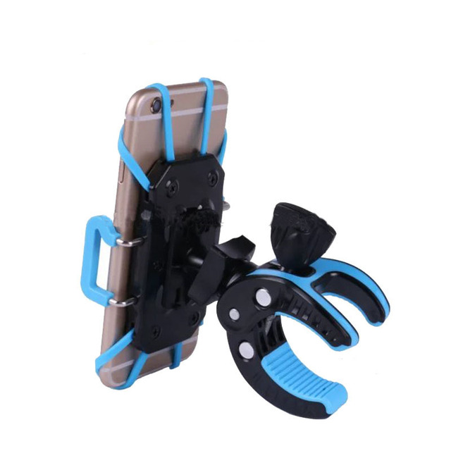 New Products Silicone Craw Mobile Phone Motorcycle Scooter Bike Handlebar Stand Holder for iPhone 5s 6s 7 8 X plus Samsung Note8