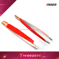 TW1155 New style beauty girl shaped eyebrow tweezer lady design tweezers