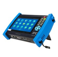 IPC-8600 7'LCD Touch Keystoke screen IP security camera CCTV tester monitor SDI PTZ control PoE Full