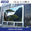 SMD2727 full color p5 outdoor with die-casting aluminum cabinets rental led display