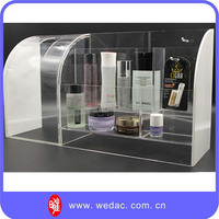 acrylic cosmetic display case,acrylic plastic cabinet,plexiglass storage box