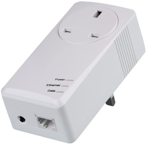 500Mbps Powerline Network Adapter with AC Pass Through