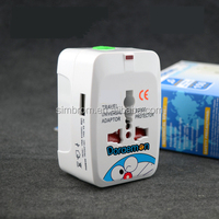 Multifunctional Travel Plug multi switch socket,12 voltage socket ce rohs approved