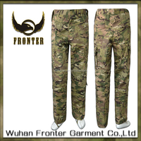 Customized T/C grid cloth multicam camouflage tactical military army pants