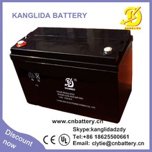 Kanglida 12v 100ah deep cycle agm vrla photovoltaic cells