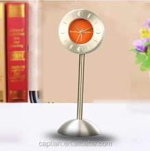 digital desk clock with clock coil spring,auto flip clock