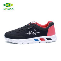 2017 new arrive fashion design best cross trainer branded badminton shoes men