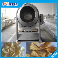 Flavored potato chips / sticks processing machine / fried potato snack production line