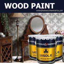 Teak colored waterborne wooden putty paint