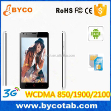 small slim size mobile phones with 3G 2100 1900mhz