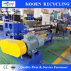 Best quality plastic pellet production machinery