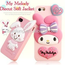 "2013 New Arrival Cute Animal Shaped Silicone Lighter Mobile Phone Cases for Apple for Iphone 4/ 4S/ 5/ 5C ""11"""