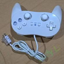 For Nintendo wii classic Pro controller color white and black
