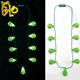 Hot Sale LED Flashing Christmas Tree Necklace for Party Favor