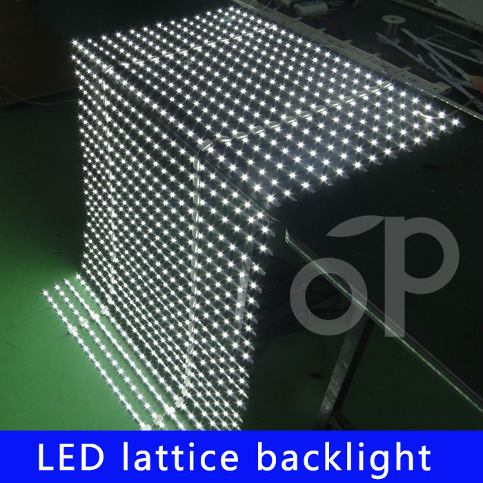 Chinese New Product Factory Price Led Rigid Strip bar led Lattice For Light Box