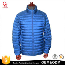 RUNTEX or OEM brand high quality mens winter clothes Packable custom down puffer jacket