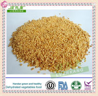 Supply 26-40mesh dried fried garlic granules from Tianjin or Qingdao port