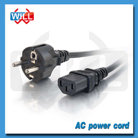 VDE CE European standard AC power cord for electric grill