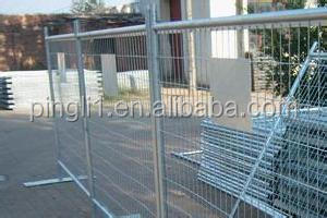 factory price 9*6 ft construction site temporary fence in canada market