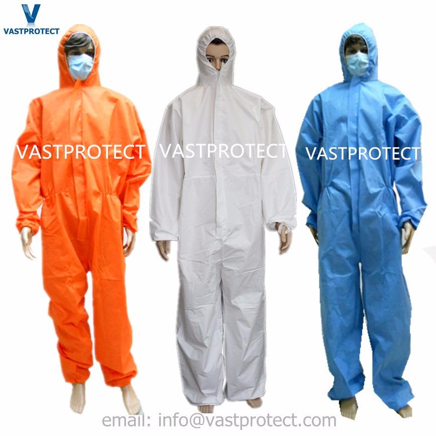 Disposable Industry Protective Chemical Suit for Asbestos/Painting