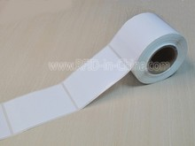 Car Windshield RFID Print Barcode Labels Sticker with Low Cost