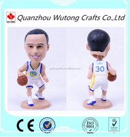 Wholesale Stephen Curry Bobble Head for Famous Basketball Player