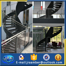 indoor stair railings interior stainless steel stair railing protect mesh fence