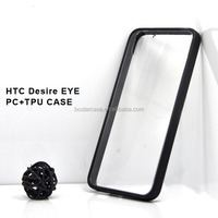 custom pc tpu mobile phone case for HTC Desire EYE, pc+tpu cell phone back cover for HTC Desire EYE