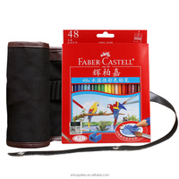 Faber-Castell artist 48 colored sketching pencils drawing set + 48 pencils bag