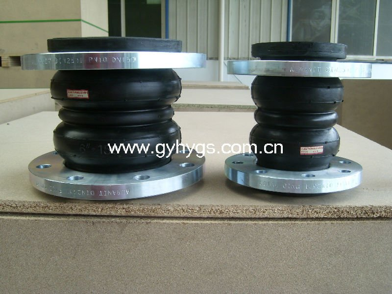 Hot-sell double rubber expansion joints concrete