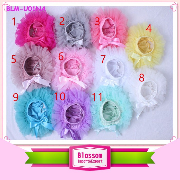 Wholesale children ruffle bloomers shiny print spandex mermaid fabric multicolor girls boys icing triple bloomers for 0-6 years