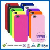 C&T Manufacturer fashion silicone skin cover for iphone 5