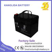 kanglida 12v33ah 20hr maintenance free sealed lead acid accumulator for ups system