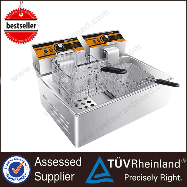 ShineLong Gas/Electric Continuous Industrial Deep Chip fryer