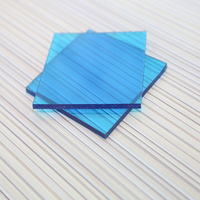 sliding doors polycarbonate transparent solar panel blue pc solid sheet