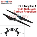 1345 Quick Release Self-lock Self-tightening CW&CCW Propellers Carbon Fiber Prop Accessory for DJI Inspire 1