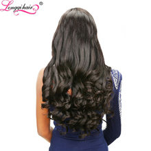 Wavy Brazilian Remy Hair Blonde&Blue Brazilian Virgin Remy Hair Weft