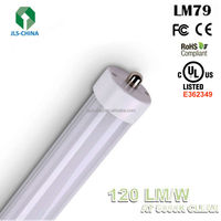 2400mm 8ft Single Pin T8 LED Lighting Hot Tube with UL/DLC
